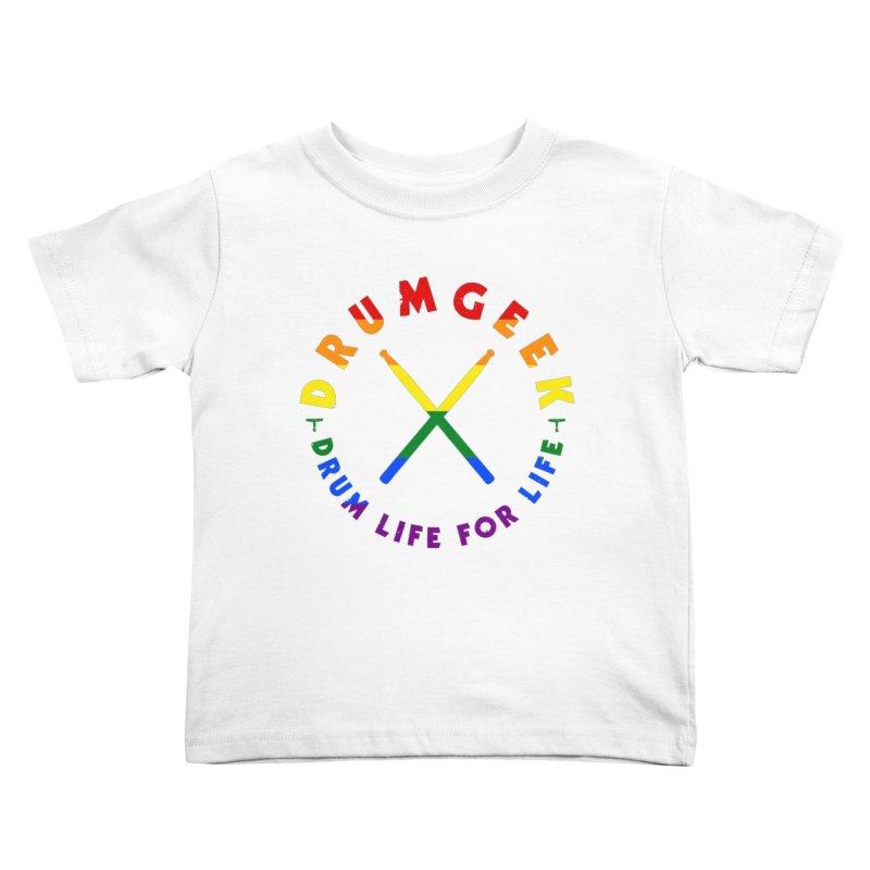 Drum Geek Pride Kids Toddler T-Shirt by Drum Geek Online Shop