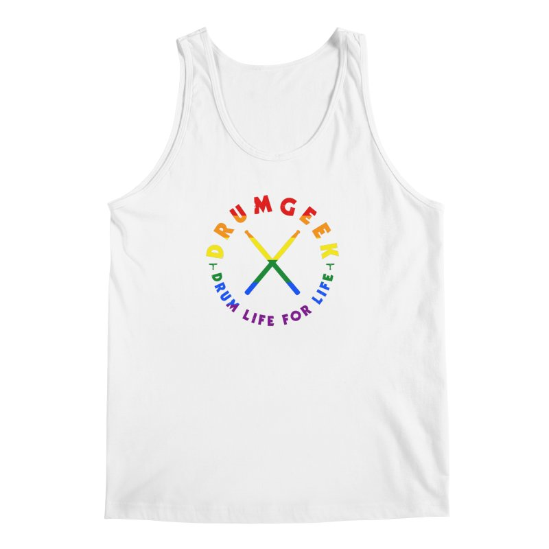 Drum Geek Pride Men's Regular Tank by Drum Geek Online Shop