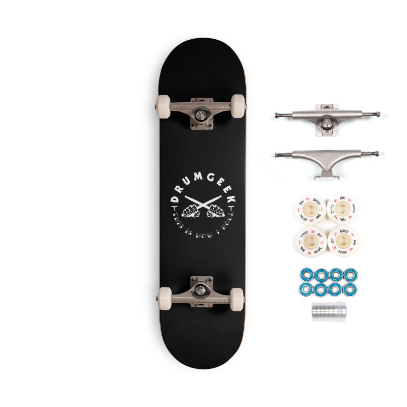 This Is How I Roll (Hands) - Solid Logo Accessories Complete - Premium Skateboard by Drum Geek Online Shop