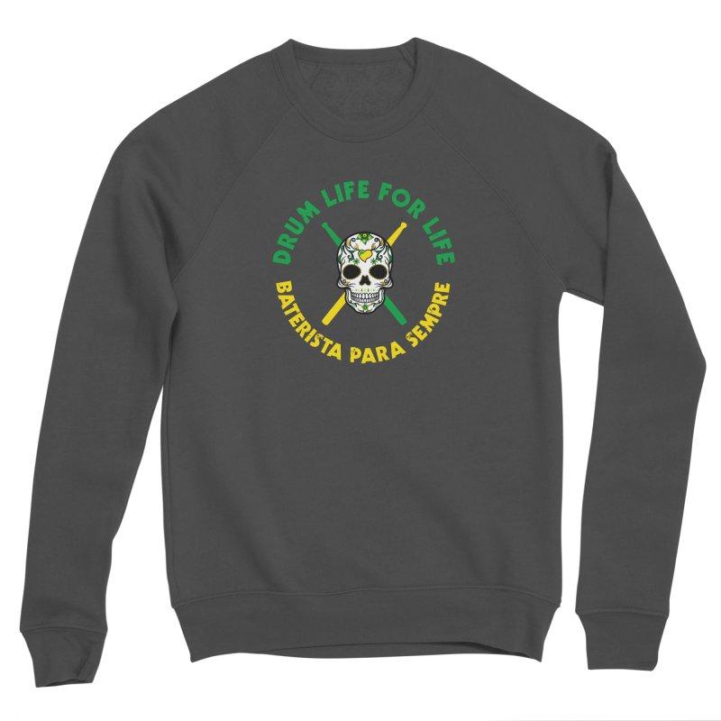 Bonsey From Brazil - 2 Color Logo Men's Sponge Fleece Sweatshirt by Drum Geek Online Shop