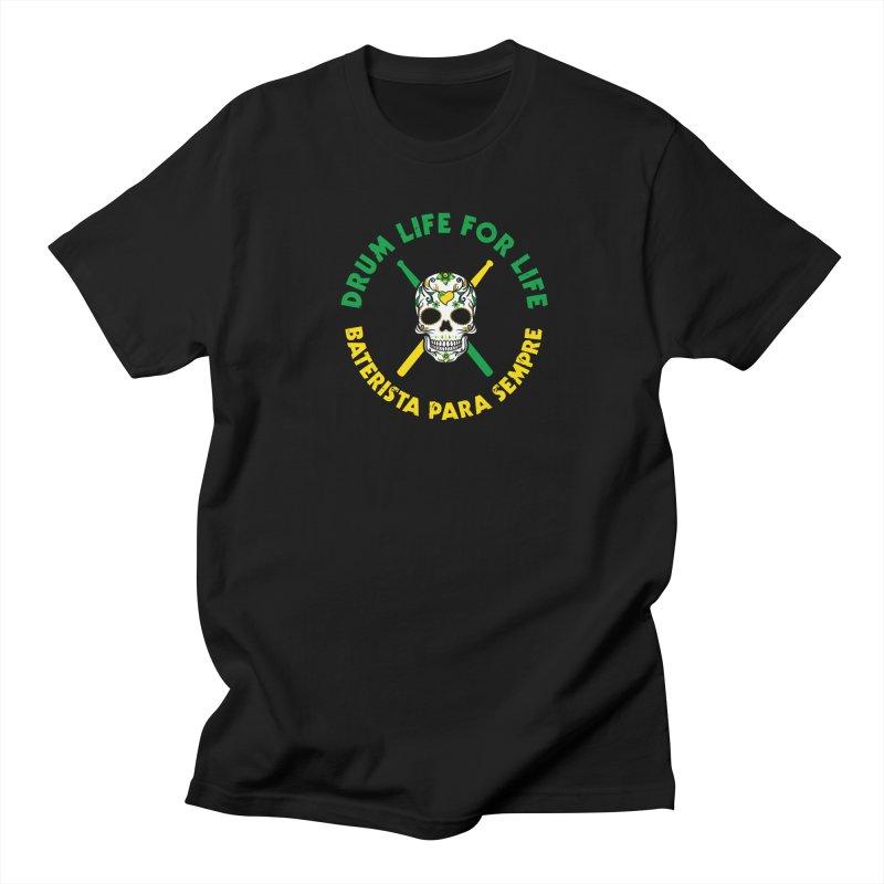 Bonsey From Brazil - 2 Color Logo Women's Regular Unisex T-Shirt by Drum Geek Online Shop