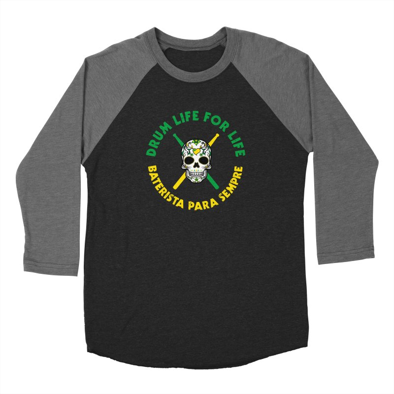 Bonsey From Brazil - 2 Color Logo Women's Baseball Triblend Longsleeve T-Shirt by Drum Geek Online Shop