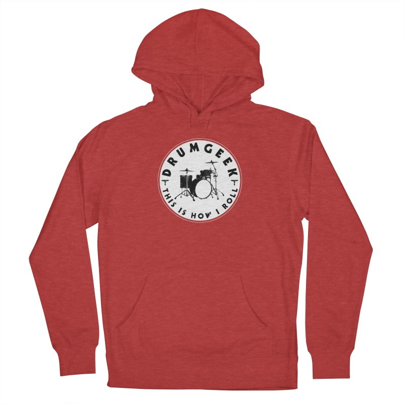 This Is How I Roll (Small Kit) - Solid Logo Men's French Terry Pullover Hoody by Drum Geek Online Shop