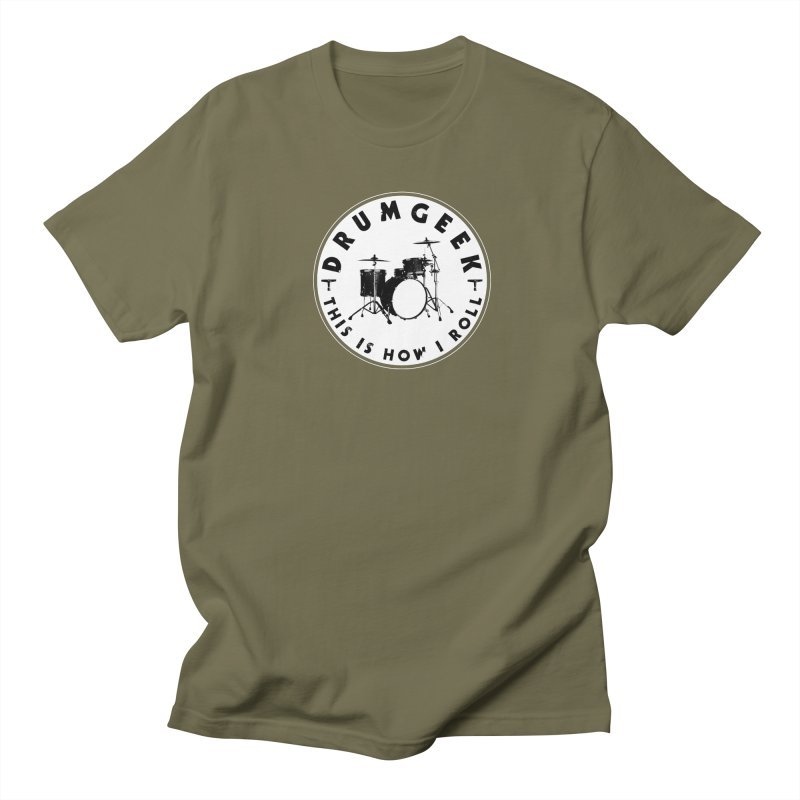 This Is How I Roll (Small Kit) - Solid Logo Men's Regular T-Shirt by Drum Geek Online Shop