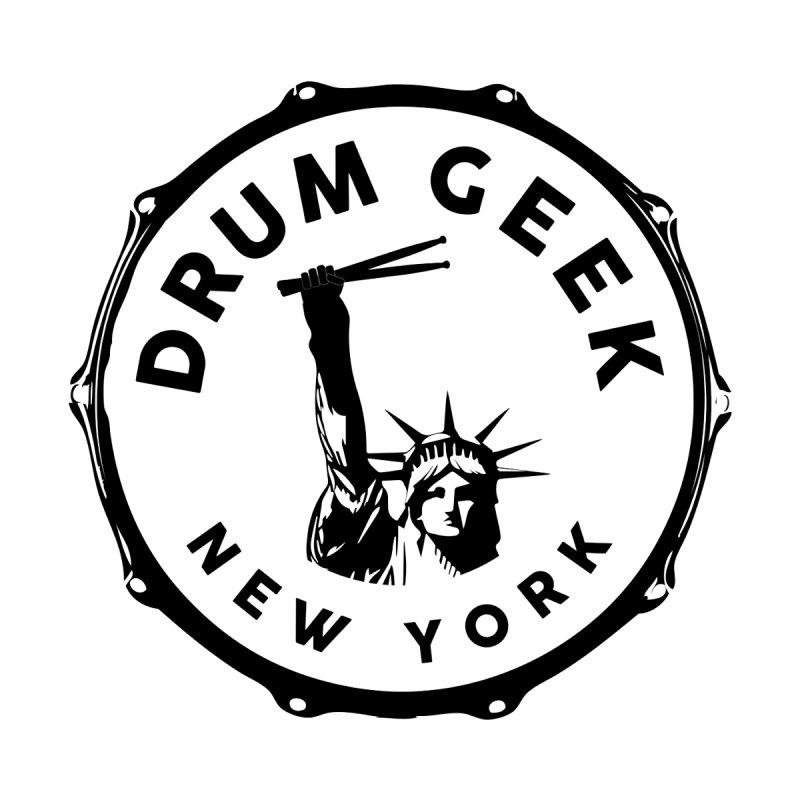 Drum Geek New York - Black Logo Men's Tank by Drum Geek Online Shop