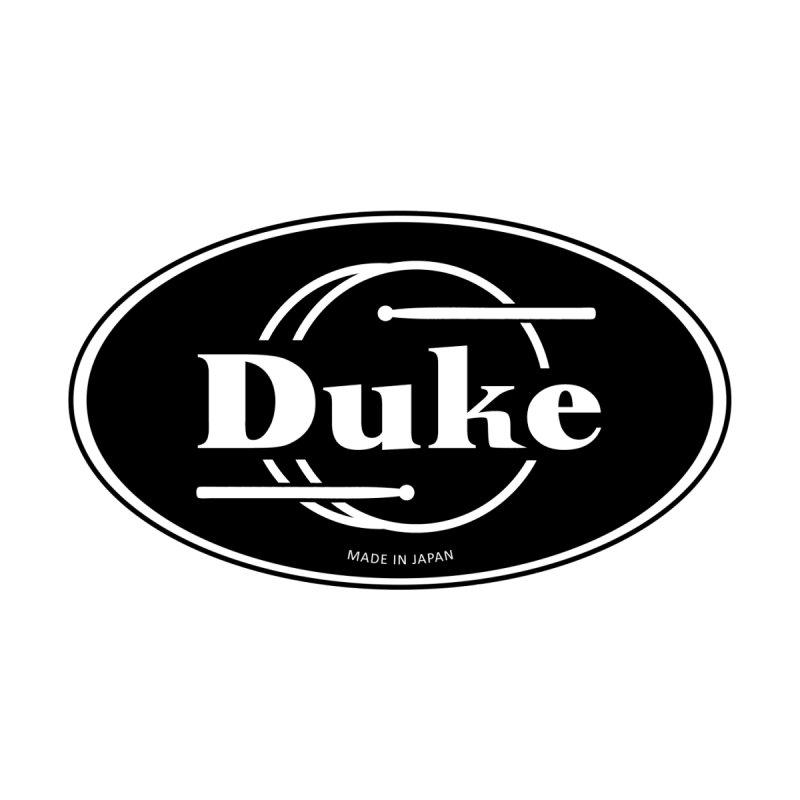 Duke Drums (Black Logo) Women's Zip-Up Hoody by Drum Geek Online Shop