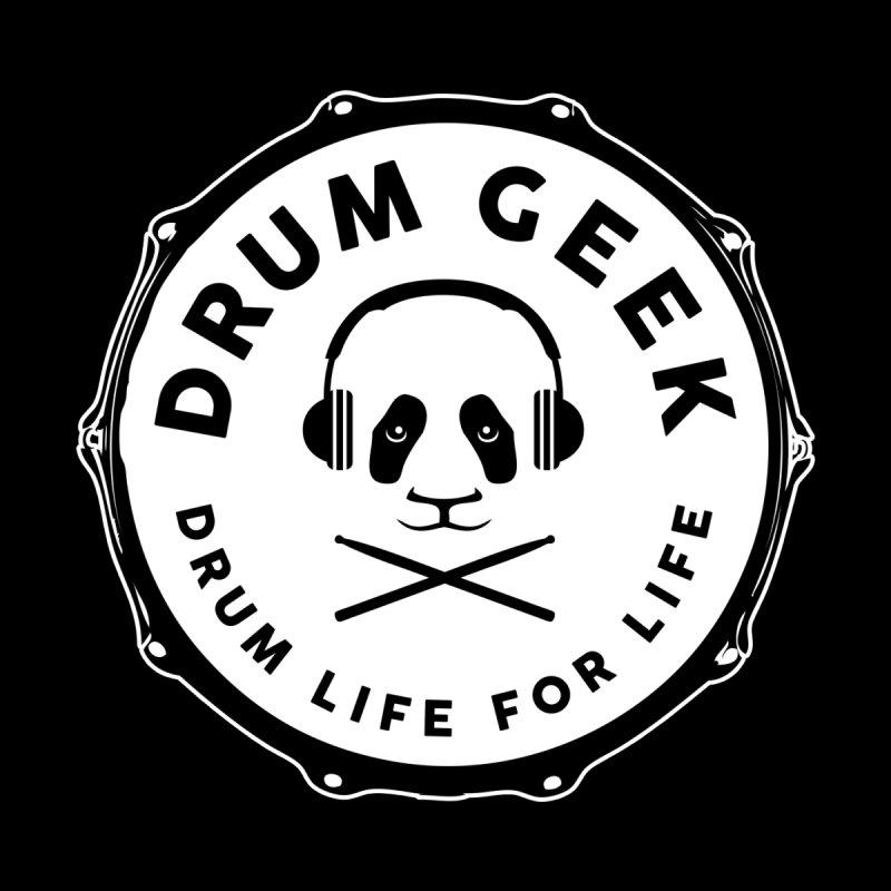 Drum Geek Operation Panda - Solid Logo Women's Zip-Up Hoody by Drum Geek Online Shop