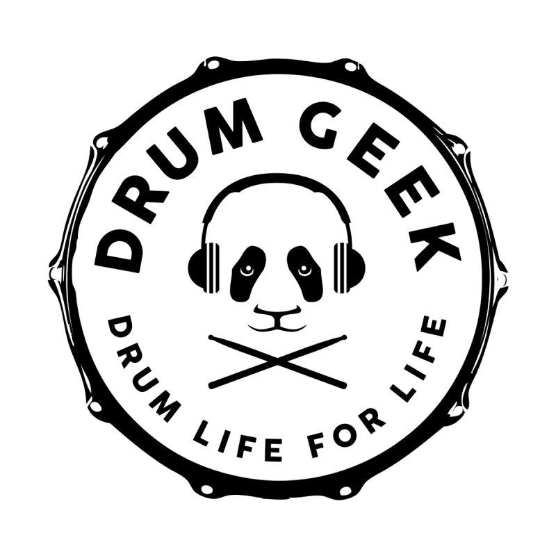 Drum Geek Operation Panda - Black Logo Women's Zip-Up Hoody by Drum Geek Online Shop
