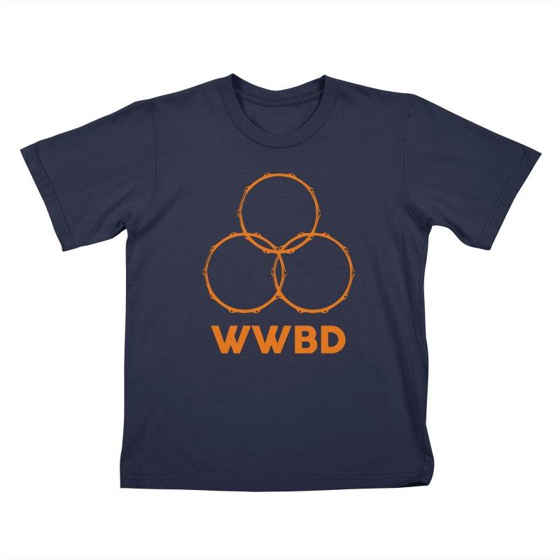 WWBD Orange Logo Kids T-Shirt by Drum Geek Online Shop