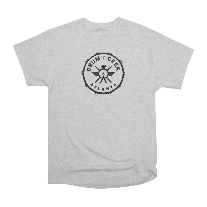 Drum Geek Atlanta - Black Logo Men's T-Shirt by Drum Geek Online Shop