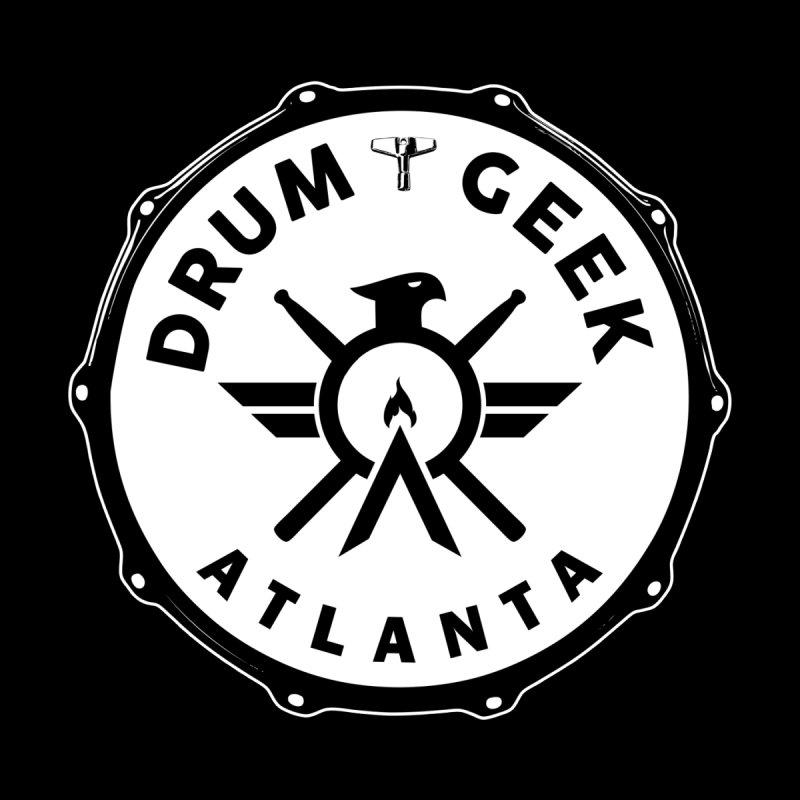 Drum Geek Atlanta - Solid Logo Kids Baby Bodysuit by Drum Geek Online Shop