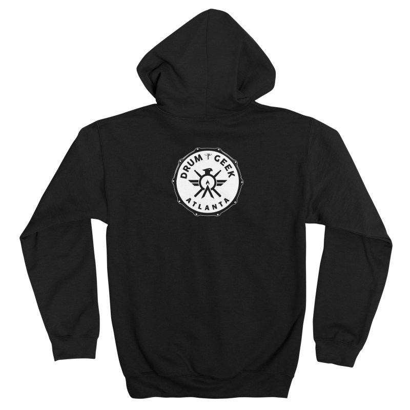 Drum Geek Atlanta - Solid Logo Women's Zip-Up Hoody by Drum Geek Online Shop