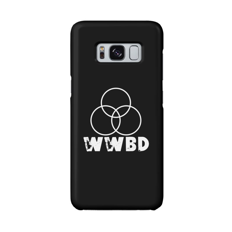 WWBD White in Galaxy S8 Phone Case Slim by Drum Geek Online Shop