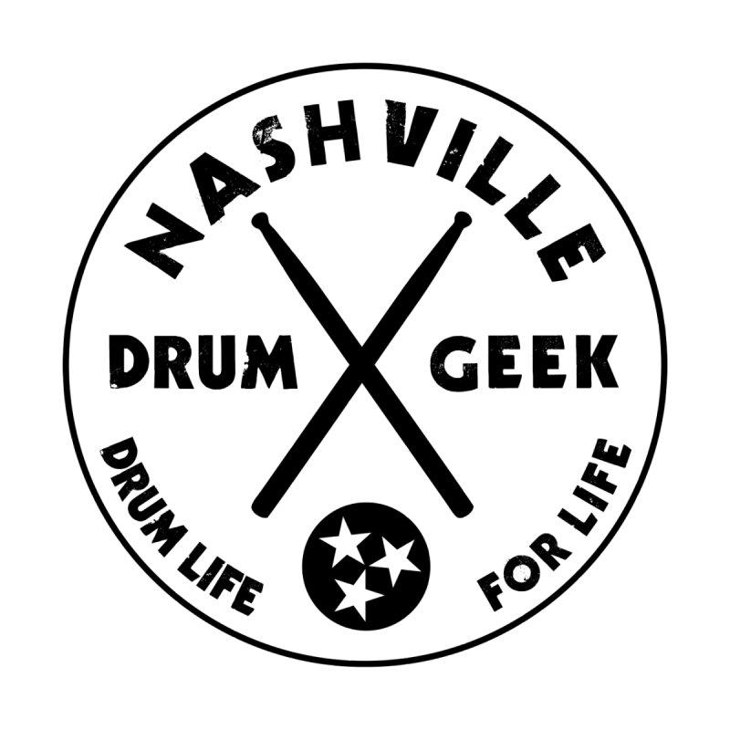Nashville Drum Geek Men's T-Shirt by Drum Geek Online Shop