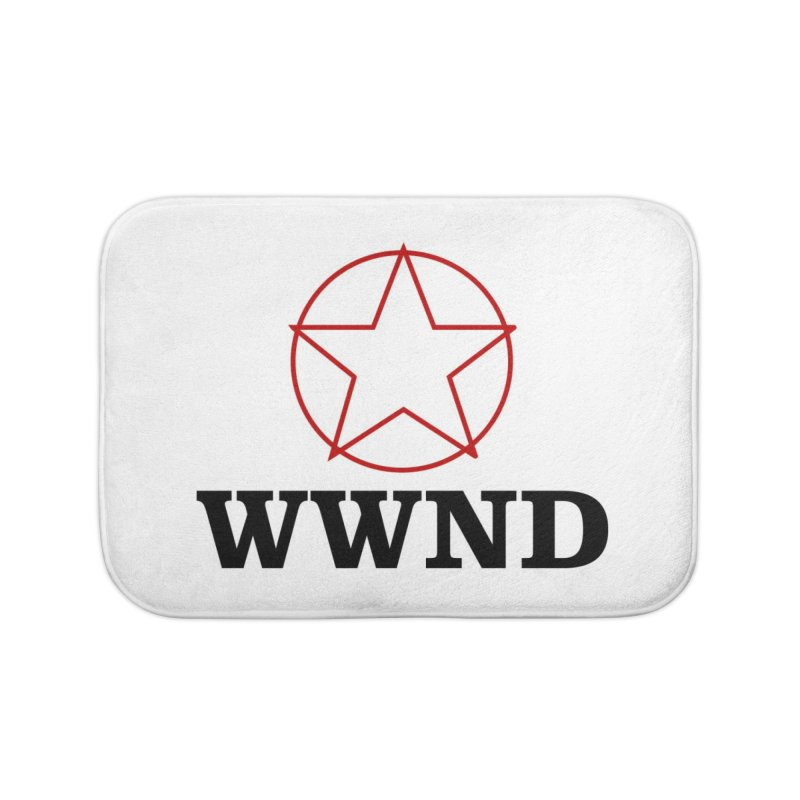 WWND in Bath Mat by Drum Geek Online Shop