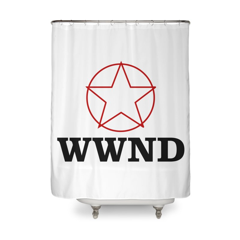 WWND in Shower Curtain by Drum Geek Online Shop