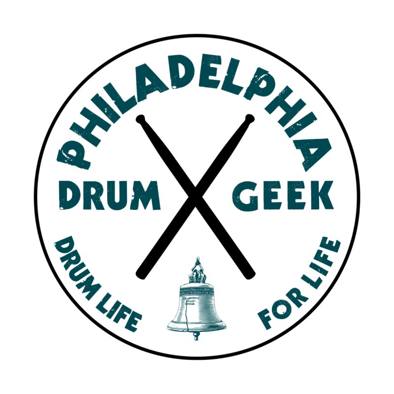 Philadelphia Drum Geek (Eagle Couture) Men's Sweatshirt by Drum Geek Online Shop