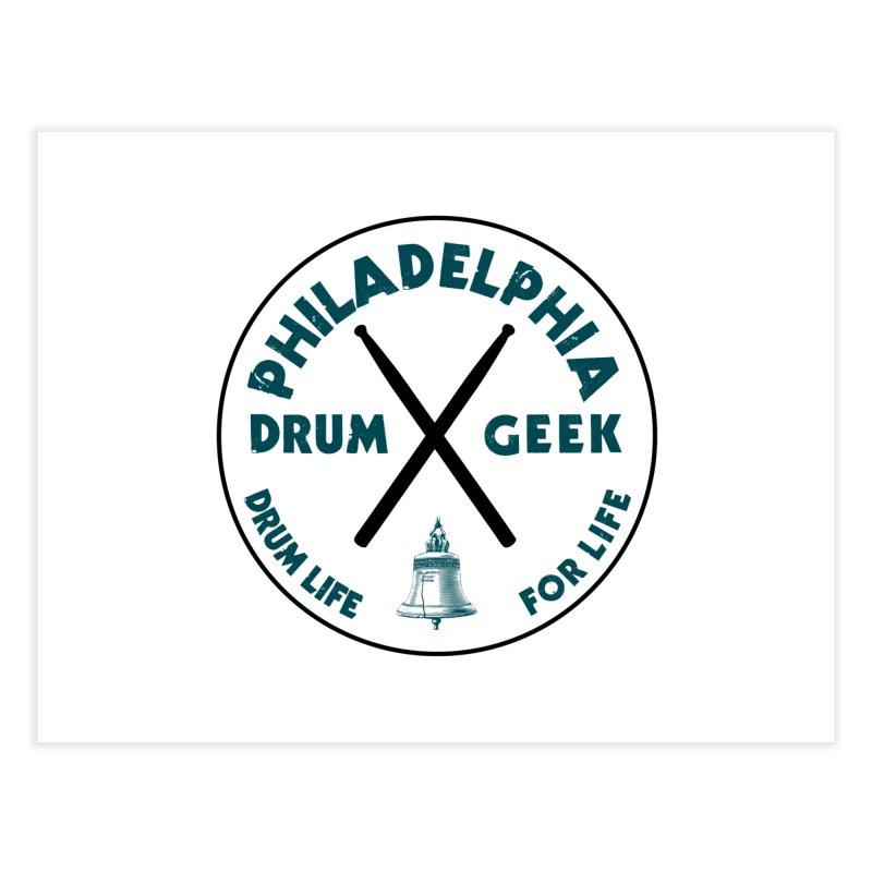 Philadelphia Drum Geek (Eagle Couture) Home Fine Art Print by Drum Geek Online Shop