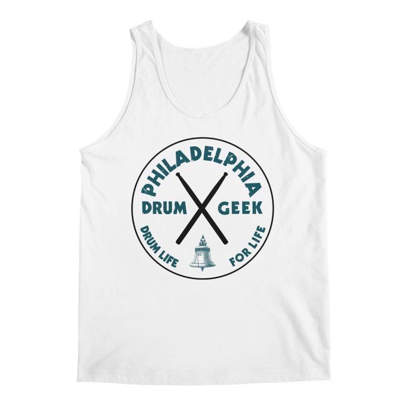 Philadelphia Drum Geek (Eagle Couture) Men's Tank by Drum Geek Online Shop