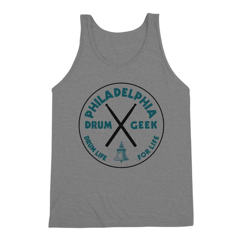 Philadelphia Drum Geek (Eagle Couture) Men's Tank by Drum Geek Online Shop