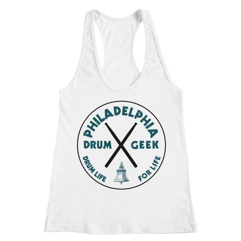 Philadelphia Drum Geek (Eagle Couture) Women's Tank by Drum Geek Online Shop