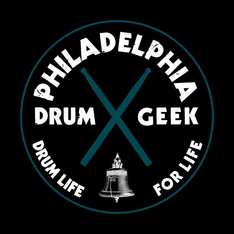 Philadelphia Drum Geek Eagle Couture Alternate Women's Longsleeve T-Shirt by Drum Geek Online Shop