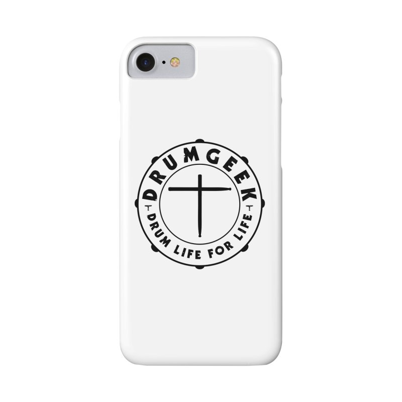 Christian Drum Geek (Black) Accessories Phone Case by Drum Geek Online Shop