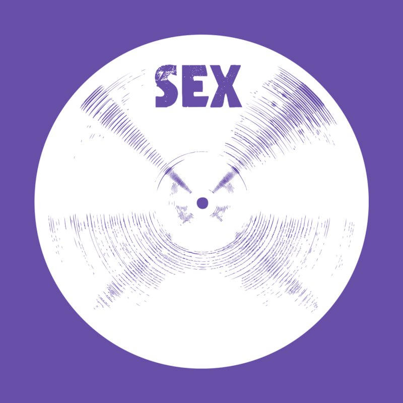 Sex Cymbal (White) Women's Longsleeve T-Shirt by Drum Geek Online Shop
