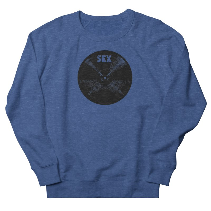 Sex Cymbal (Black) Men's Sweatshirt by Drum Geek Online Shop