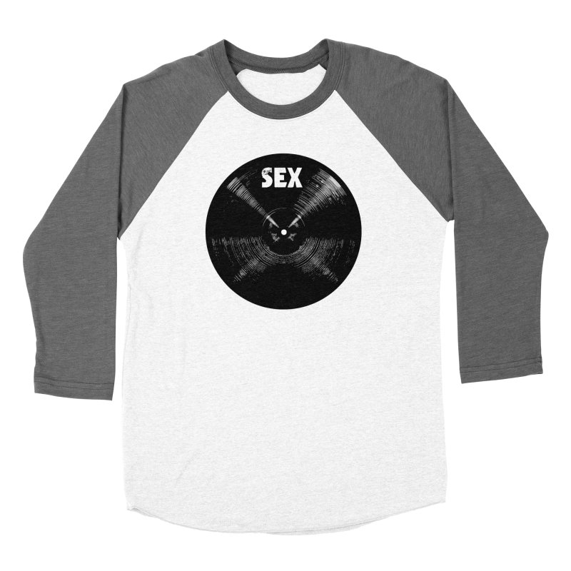 Sex Cymbal (Black) Women's Longsleeve T-Shirt by Drum Geek Online Shop