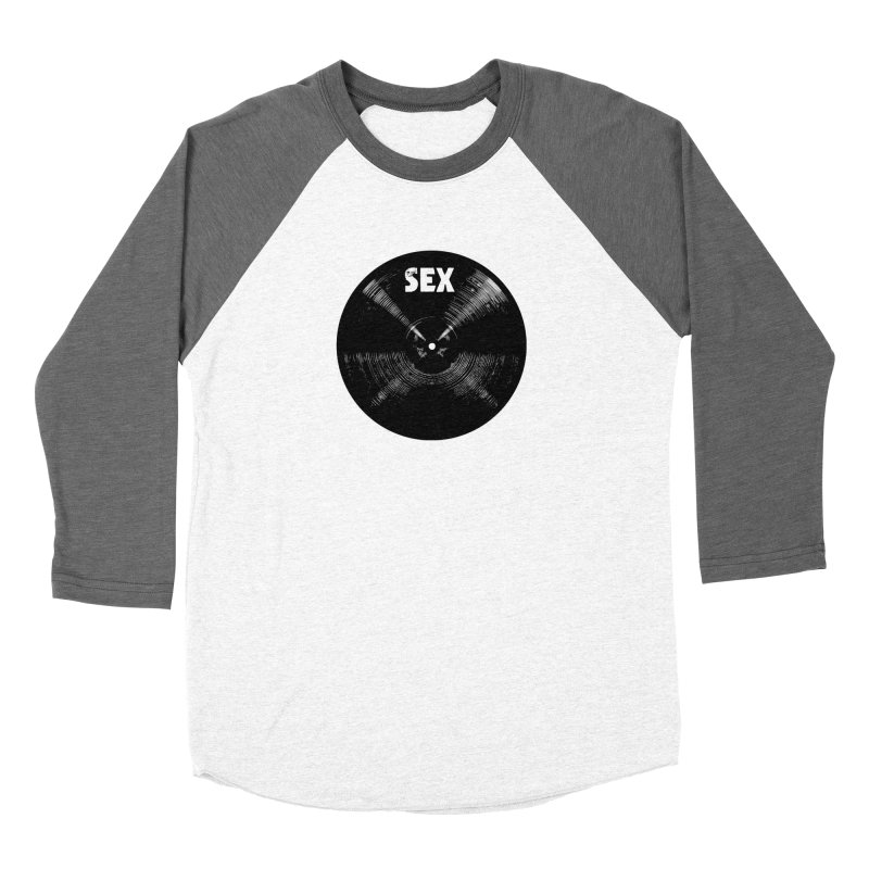 Sex Cymbal - Black Logo Women's Longsleeve T-Shirt by Drum Geek Online Shop
