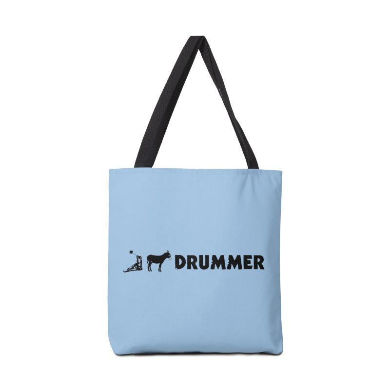 Kick Ass Drummer (Black Logo) Accessories Bag by Drum Geek Online Shop