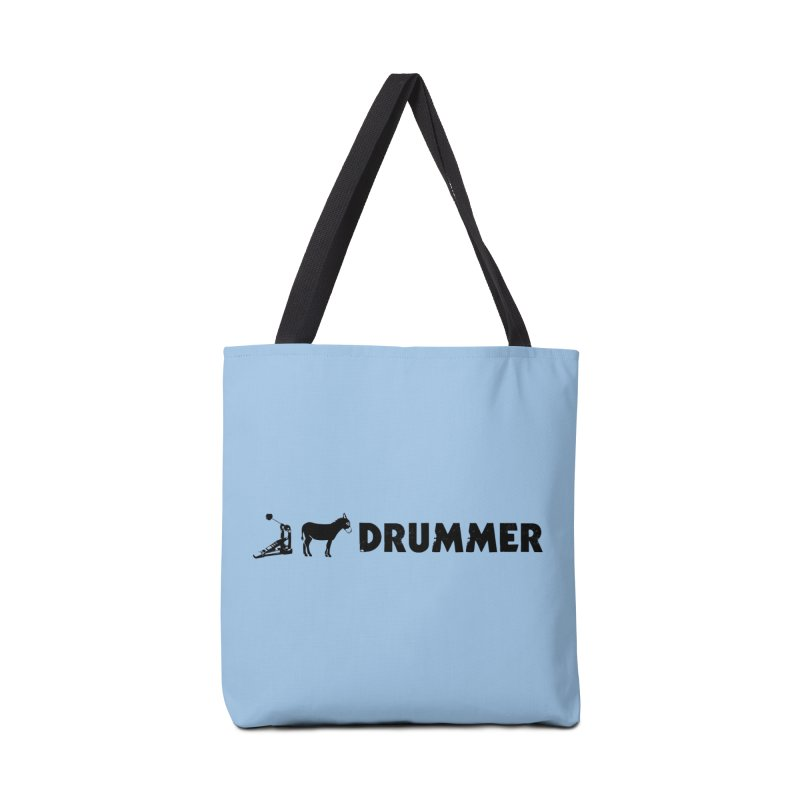 Kick Ass Drummer (Black Logo) Accessories Bag by Drum Geek Online Shop