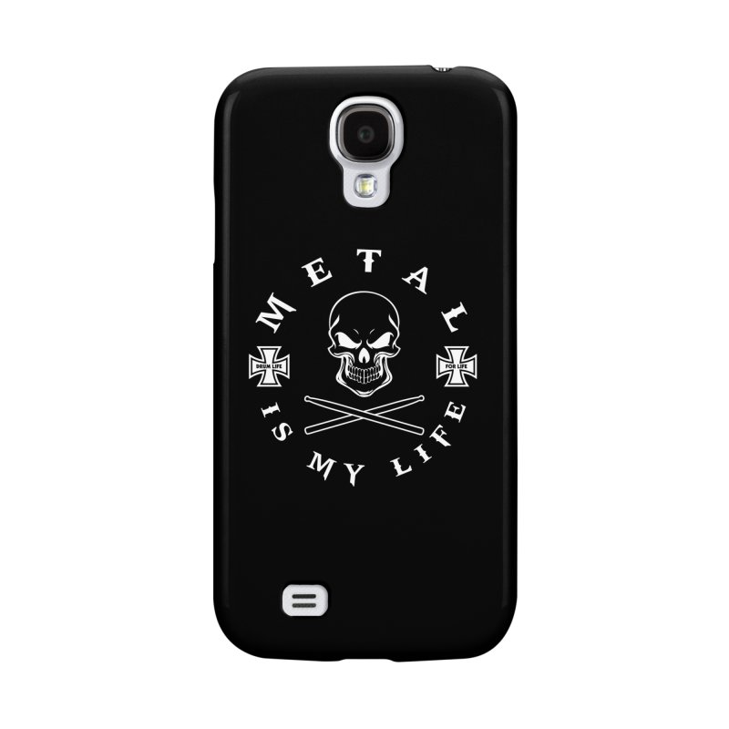 Metal Is My Life (White Transparent) Accessories Phone Case by Drum Geek Online Shop
