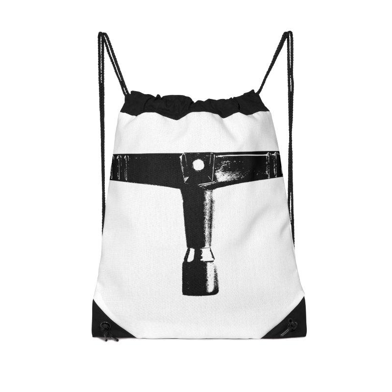 Drum Key (Black Logo) Accessories Drawstring Bag Bag by Drum Geek Online Shop