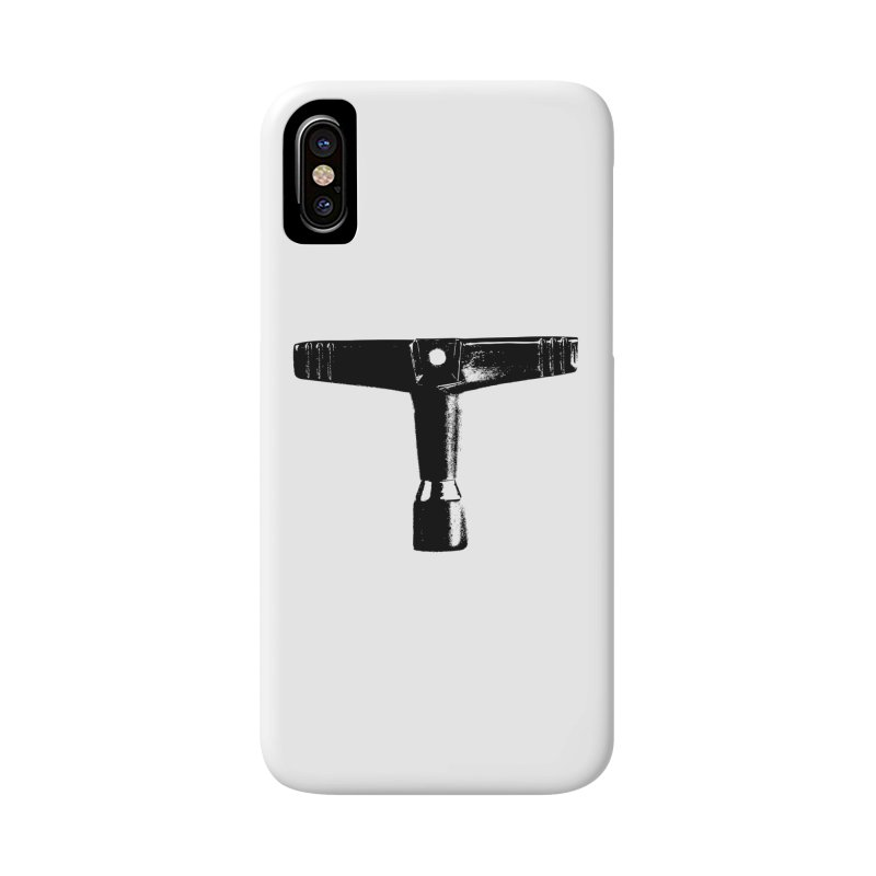 Drum Key (Black Logo) Accessories Phone Case by Drum Geek Online Shop