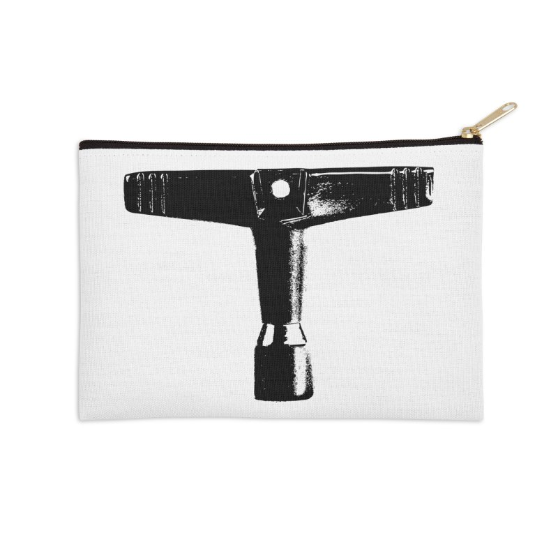 Drum Key (Black Logo) Accessories Zip Pouch by Drum Geek Online Shop