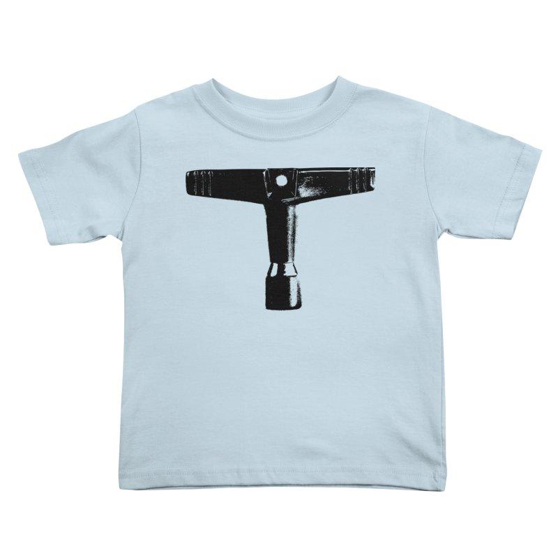 Drum Key (Black Logo) Kids Toddler T-Shirt by Drum Geek Online Shop
