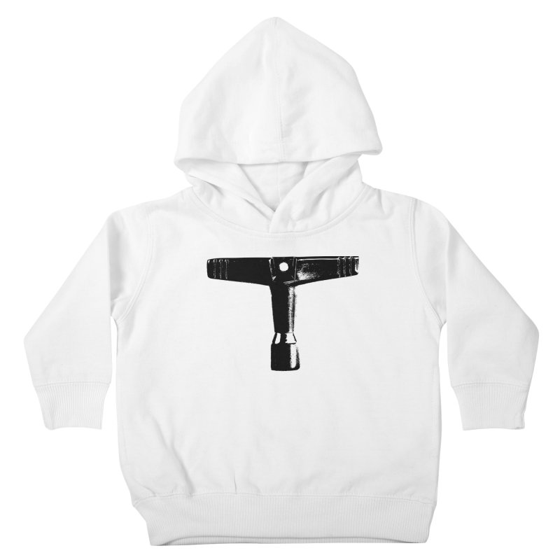 Drum Key (Black Logo) Kids Toddler Pullover Hoody by Drum Geek Online Shop