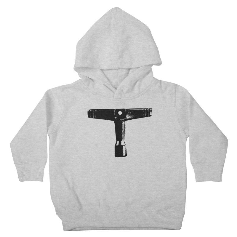 Drum Key (Black Logo) Kids Toddler Pullover Hoody by Drum Geek Online Shop