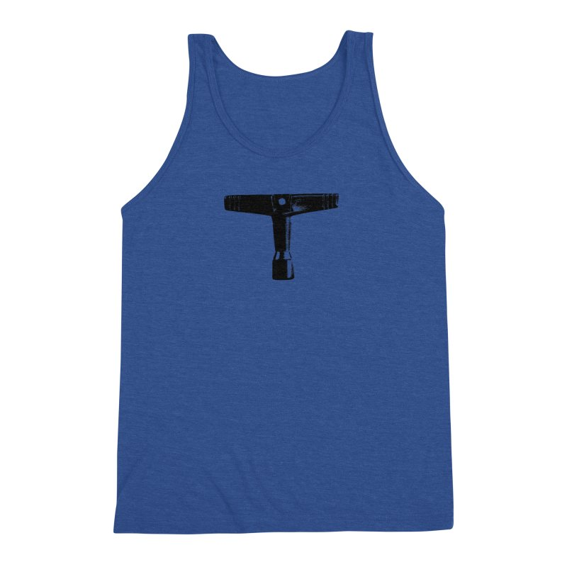 Drum Key (Black Logo) Men's Tank by Drum Geek Online Shop