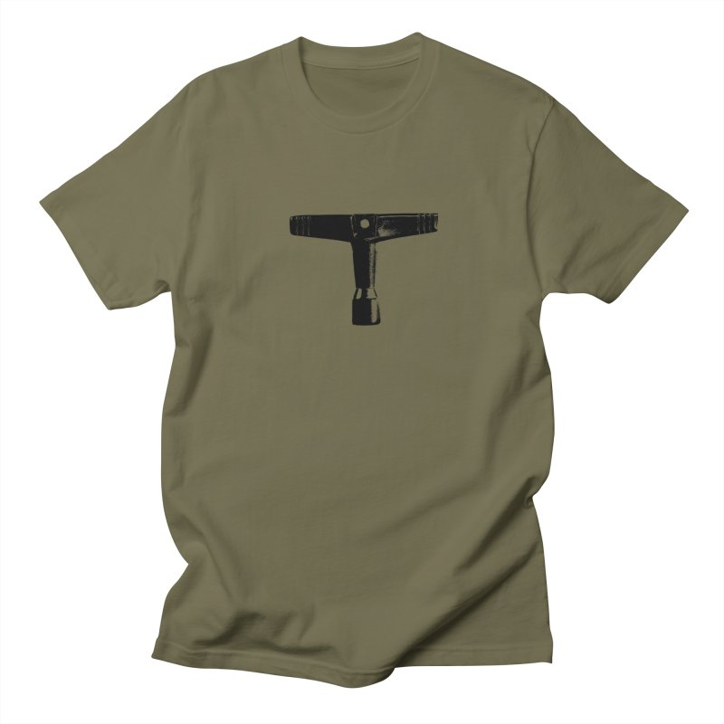Drum Key (Black Logo) Women's Regular Unisex T-Shirt by Drum Geek Online Shop
