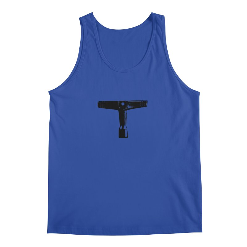 Drum Key (Black Logo) Men's Tank by Drum Geek Online Shop