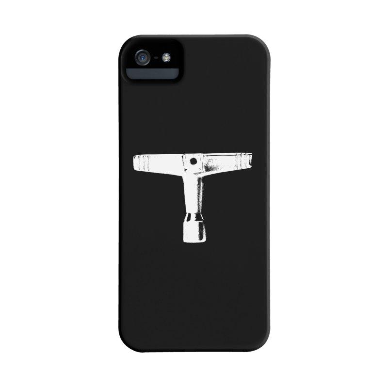Drum Key (White Logo) Accessories Phone Case by Drum Geek Online Shop