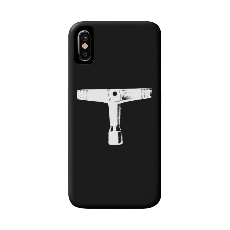 Drum Key (White Logo) Accessories Phone Case by Drum Geek Online Shop