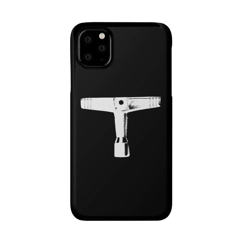 Drum Key - White Logo Accessories Phone Case by Drum Geek Online Shop