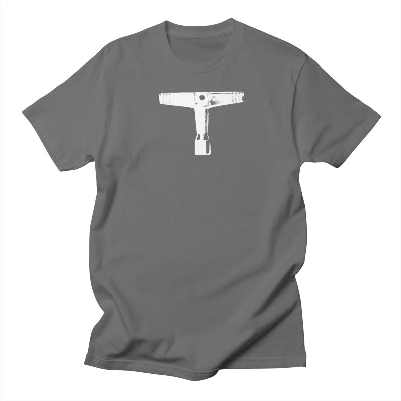 Drum Key (White Logo) Men's T-Shirt by Drum Geek Online Shop