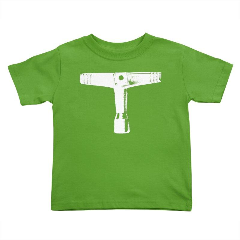 Drum Key (White Logo) Kids Toddler T-Shirt by Drum Geek Online Shop