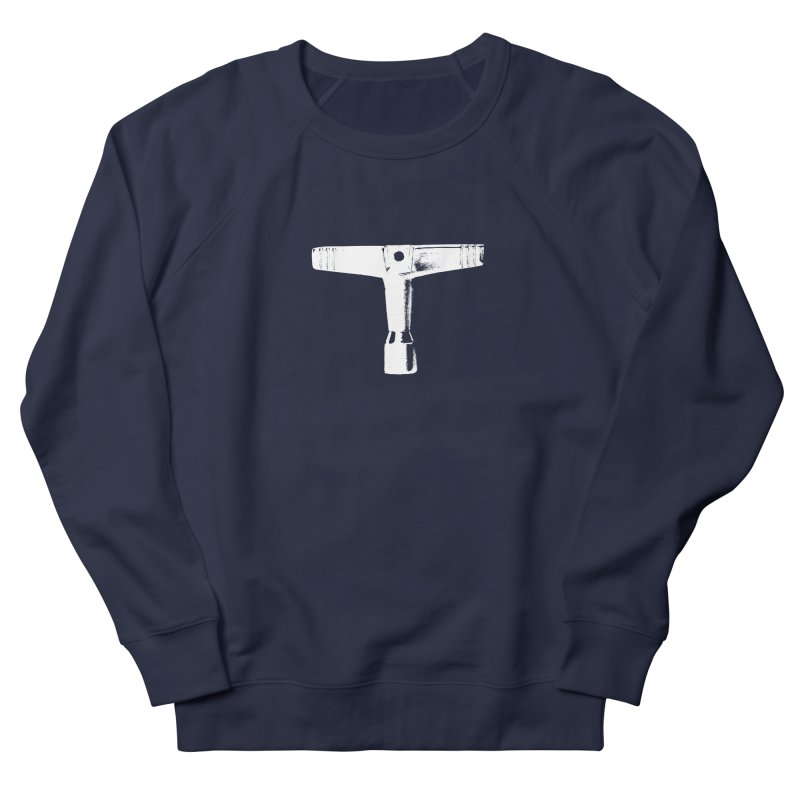 Drum Key - White Logo Men's Sweatshirt by Drum Geek Online Shop