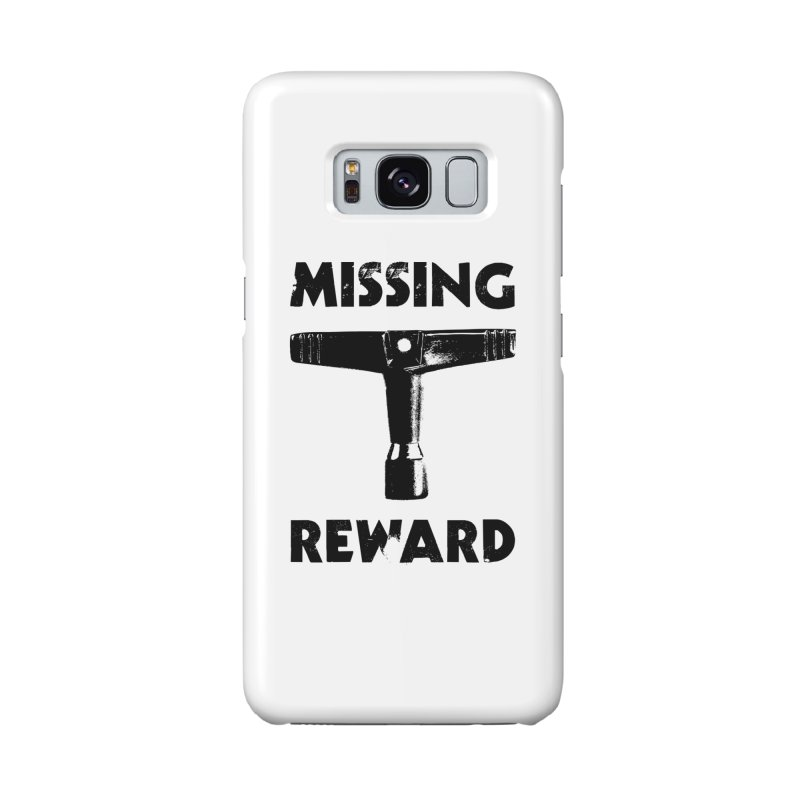 Missing Drum Key (Black Logo) Accessories Phone Case by Drum Geek Online Shop